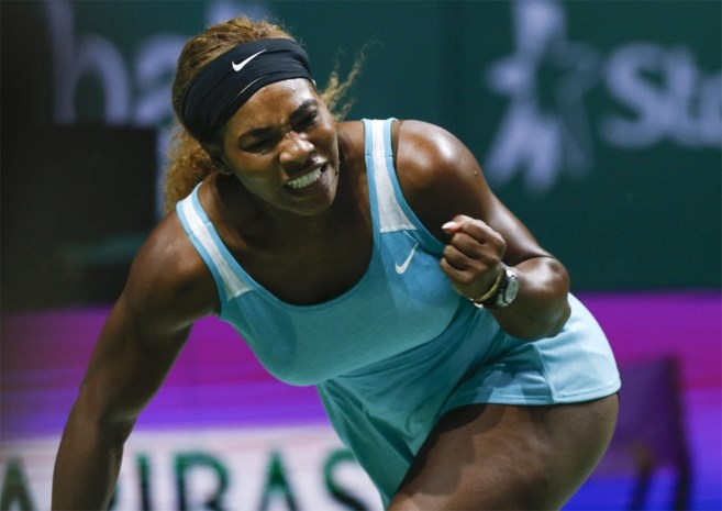 Serena Williams sluit jaar alweer af als nummer 1