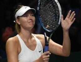 Sharapova zal WTA Finals niet winnen