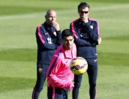 Luis Suarez klaar voor rentree: 'Ben op het rechte pad'