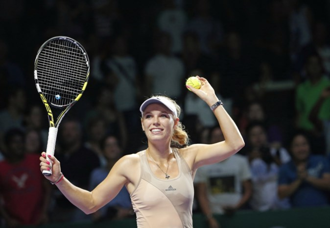 Wozniacki houdt Kvitova uit halve finales