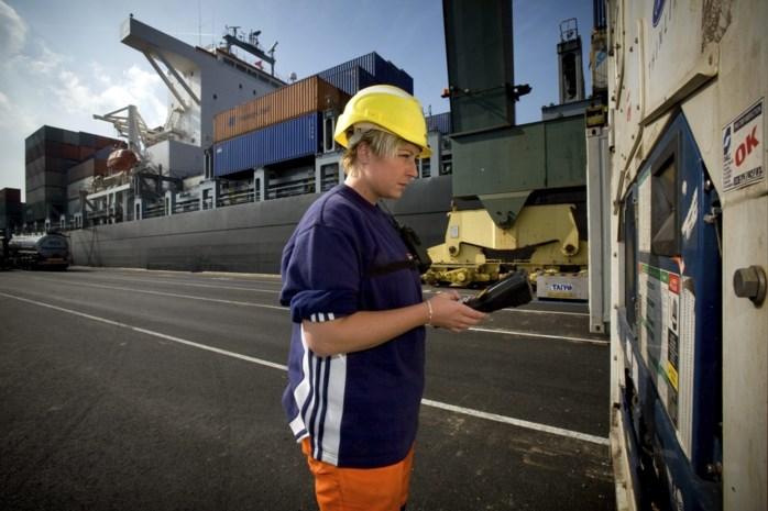 Zeebrugge: helft havenarbeiders legt donderdag werk neer