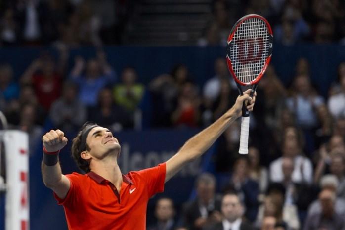 Roger Federer twaalfde (!) jaar op rij meest populaire tennisser