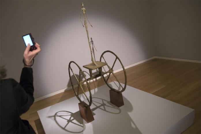 Giacometti's 'Chariot' voor 101 miljoen dollar verkocht