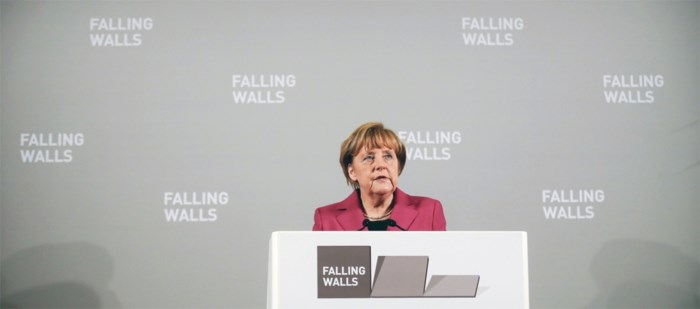 Merkel: 'Deze stad schreef geschiedenis'