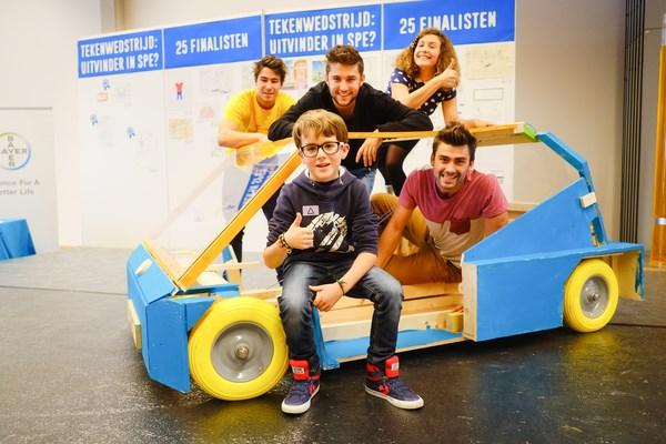 Louis en Bo zijn beste mini-uitvinders van België
