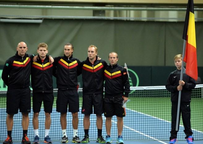 Belgische tennissers geven Zwitserland partij in Luik