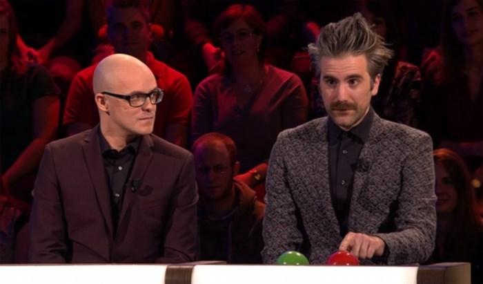 Jeroom brengt knoppen Geert Hoste mee naar Slimste Mens