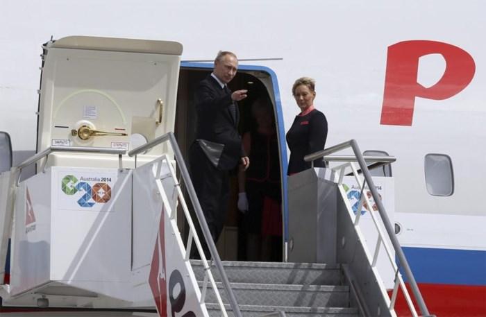 Poetins vliegtuig vertrekt voor officiële einde G20-top