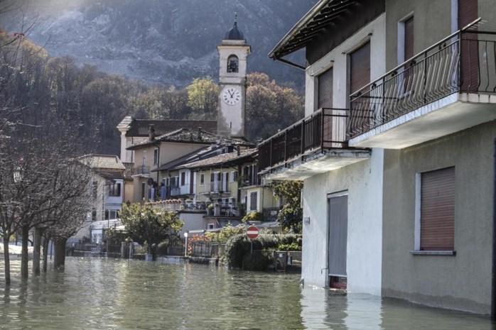 Doden door aardverschuivingen in Zwitserland en Italië