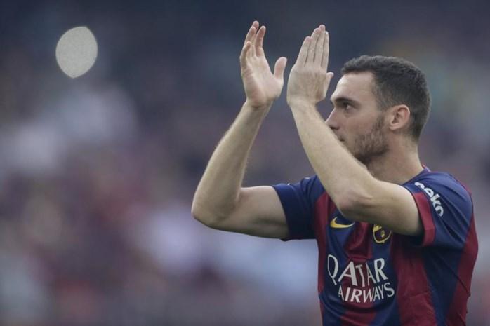 Nog geen Vermaelen in wedstrijdkern Barcelona voor duel tegen FC Sevilla