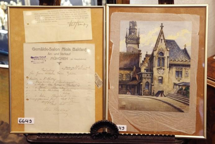 Hitler-aquarel geveild voor 130.000 euro
