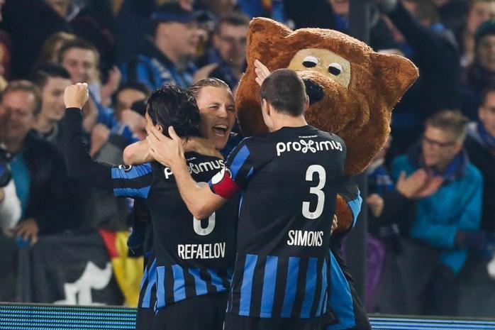 Club Brugge wordt leider na winst tegen Waasland-Beveren