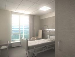 Ziekenhuis geeft eerste impressies nieuwe kamers vrij