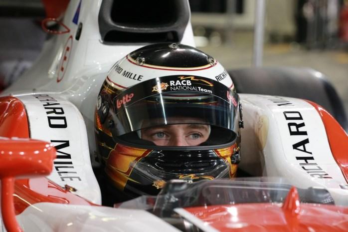 Stoffel Vandoorne test prototype McLaren-Honda