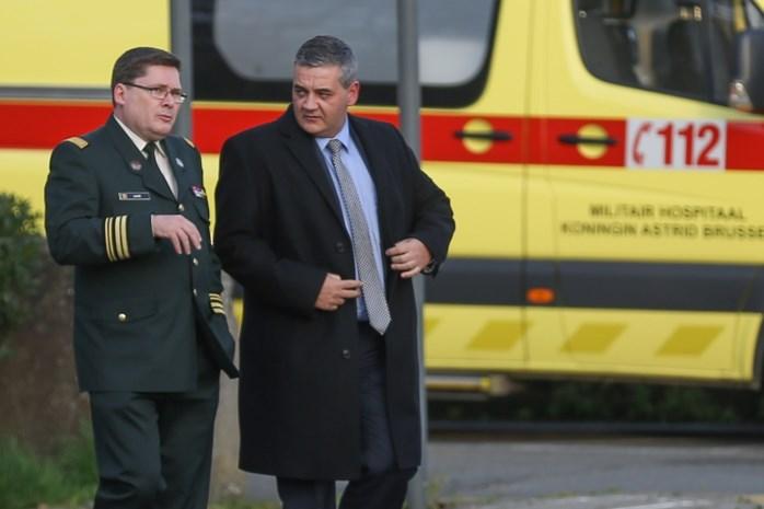 Vandeput: 'Militair hospitaal wordt geëvalueerd, maar wordt niet geviseerd'