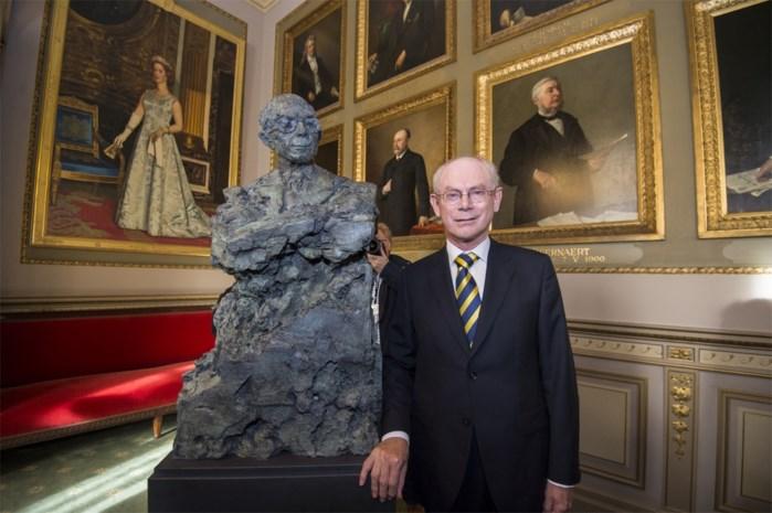 Herman Van Rompuy krijgt nu ook borstbeeld in de Kamer