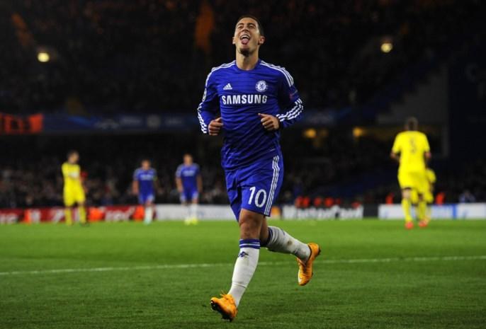 Hazard genomineerd als Speler van de Maand in Engeland