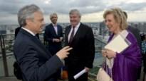 Prinses Astrid bezoekt twee Belgische paradepaardjes in Singaporese haven