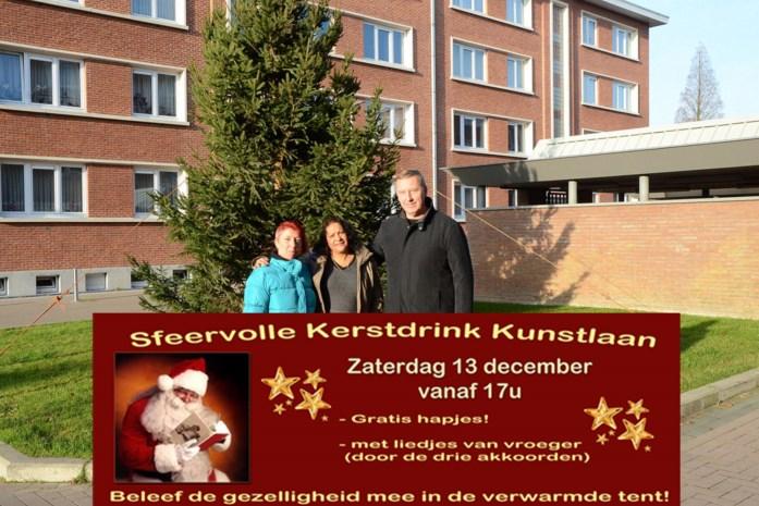 Wijkraad Kunstlaan organiseert kerstdrink