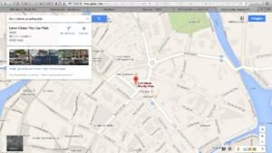 Lieve Kleine Piranhaplein ook op Google Maps