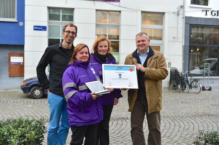 'Gemeenschapswachten met tablets' pakken bijna Award