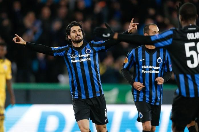 Club Brugge groepswinnaar na moeizame zege