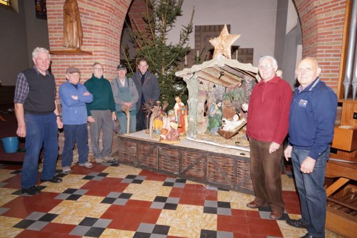 Laatste keer kerststal in de kerk van Achterbos