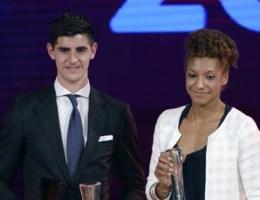 Thibaut Courtois en Rode Duivels grote overwinnaars van het Sportgala 2014