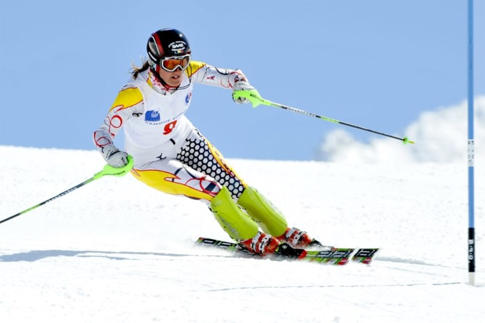 Karen Persyn 19de in slalom Zinal