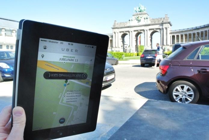 Uber ook in Brussel duurder op piekuur