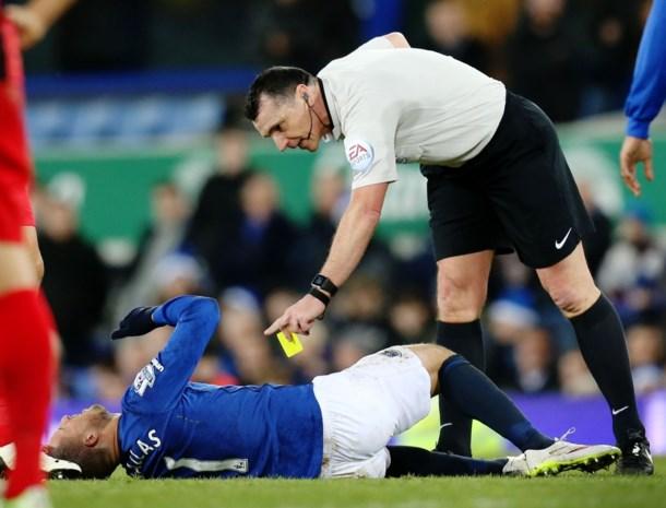 Everton wint maar ziet Mirallas uitvallen