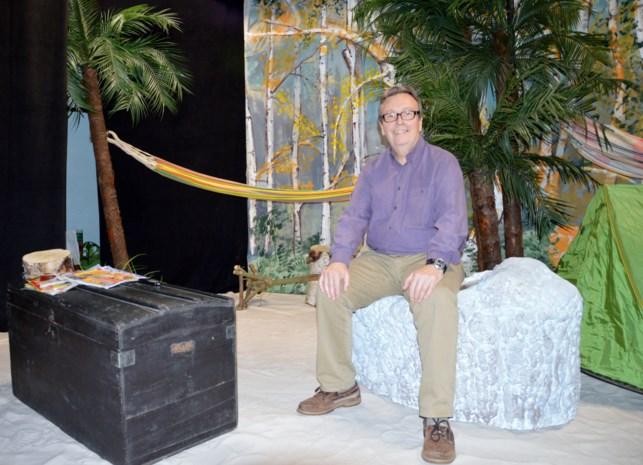 Frank Serrien staat al veertig jaar op de planken