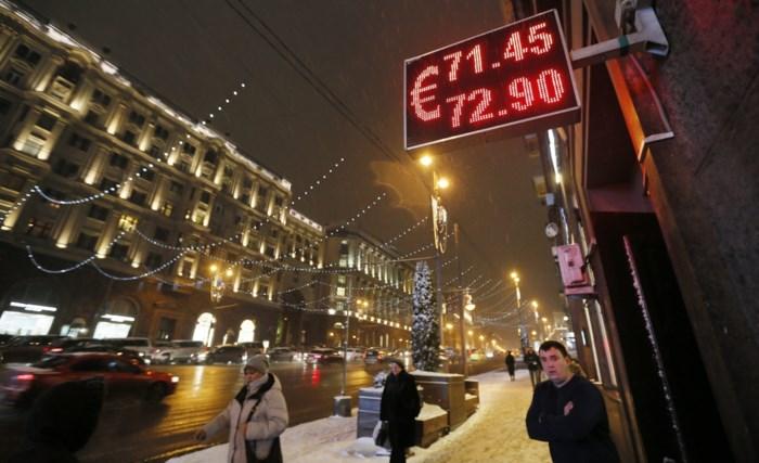Russische centrale bank verhoogt rente fors