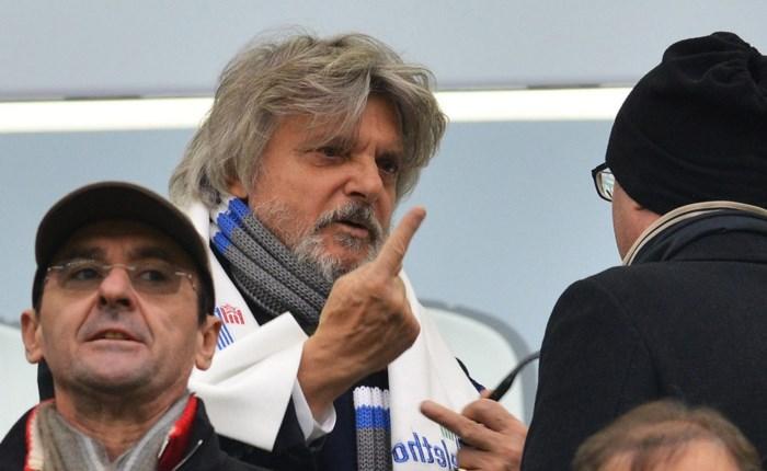 Discriminerende uitspraak kost Sampdoria-voorzitter stevige schorsing