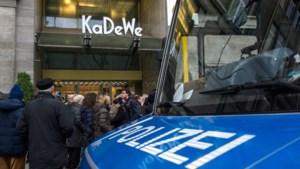 Kerstshoppers opgeschrikt door overval op beroemd Berlijns warenhuis
