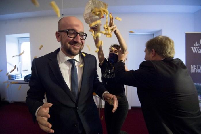 Strengere beveiliging voor premier Michel na 'frietgooien'