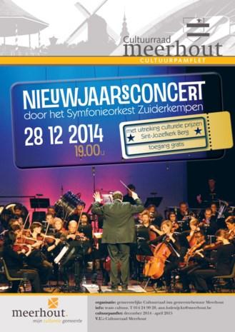 Gemeente organiseert gratis nieuwjaarsconcert