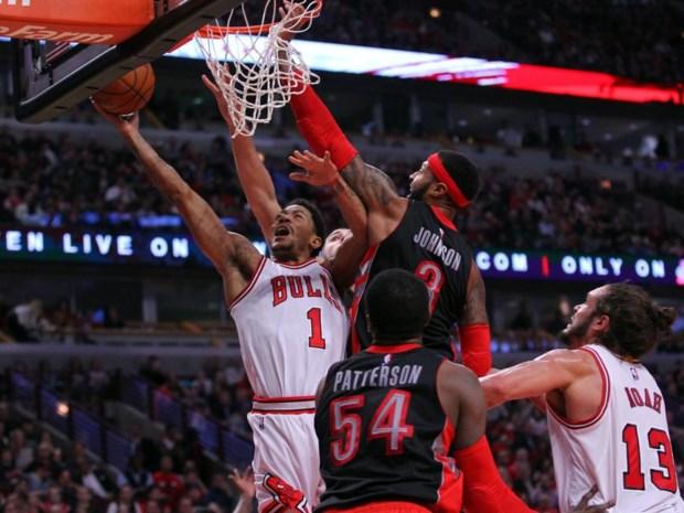 NBA. Bulls vechten zich langs Raptors, terugkeer Parker helpt Spurs