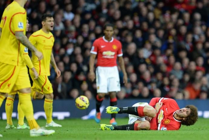 Manchester United moet Fellaini langer missen