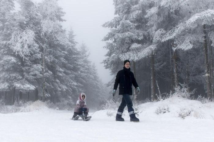 Kans op witte kerst (in de Ardennen)