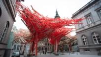 Kunstwerk Arne Quinze ingestort in Bergen