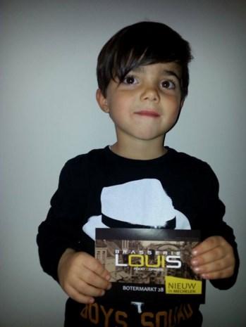 Louis (3) heeft nieuwe brasserie op Botermarkt
