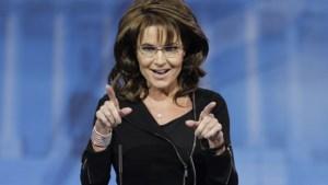 Sarah Palin: 'Zoontje at hond tenminste niet op'