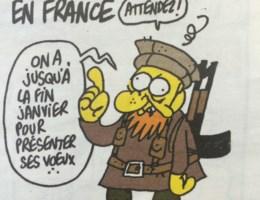 Laatste cartoon van Charlie Hebdo-directeur 'voorspelde' aanslag
