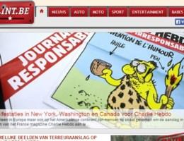Extra beveiliging voor redactie van website clint.be