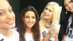 Selfie van miss Israël zorgt voor politiek conflict