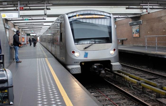 Man neergestoken op Brusselse metro