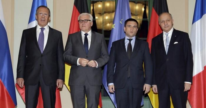 Oekraïne en Rusland bereiken akkoord over terugtrekking zware wapens