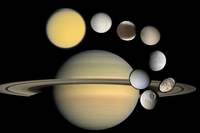 Blik op de Ruimte: Saturnus en haar manen