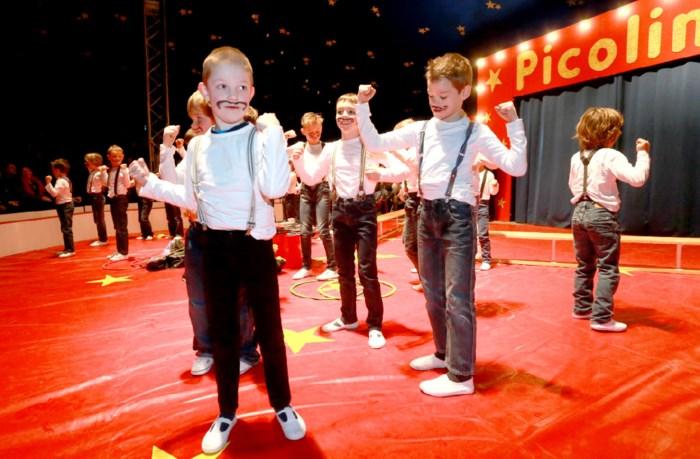 St-Luciaschool wordt even omgedoopt tot circus Lucini